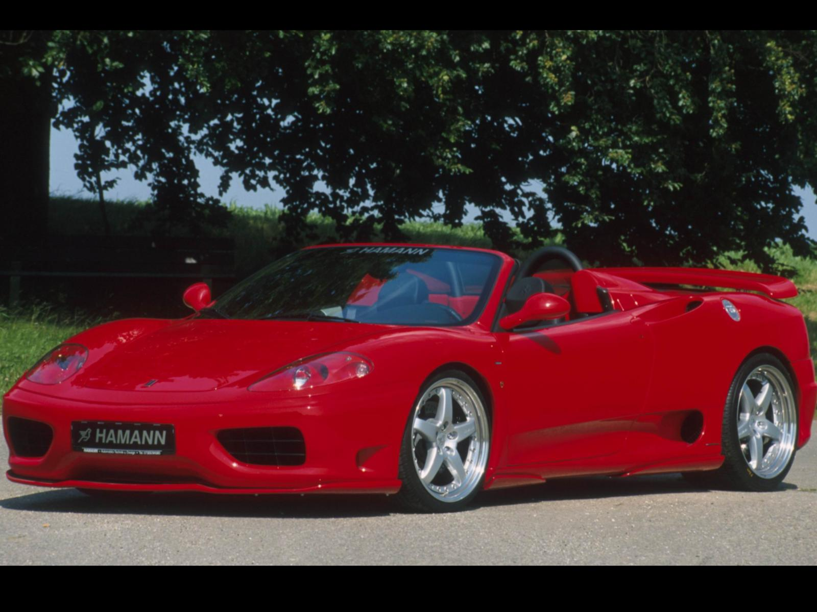 Hamann Ferrari 360 Spider photo 13758