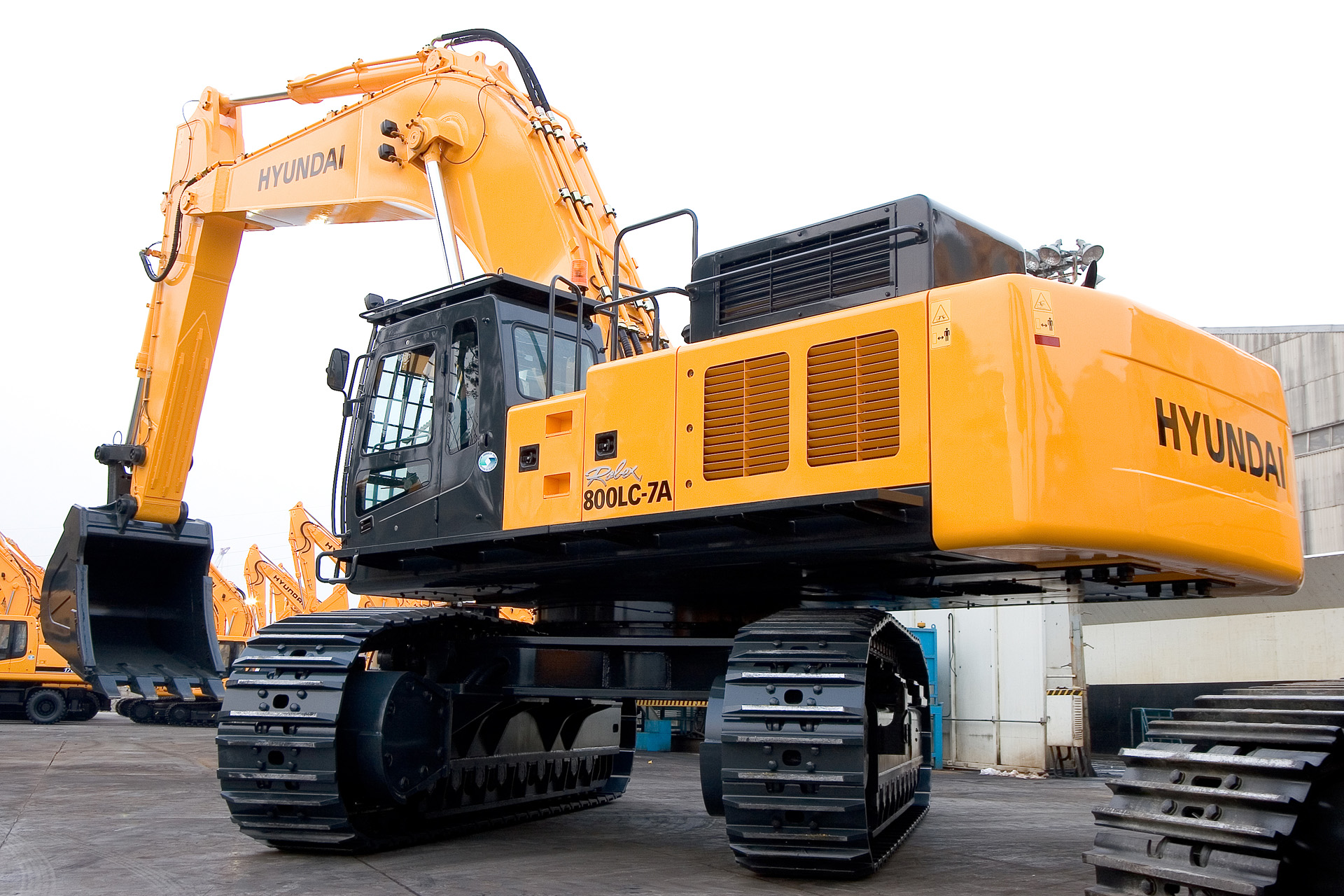 Hyundai R800LC photo 65351