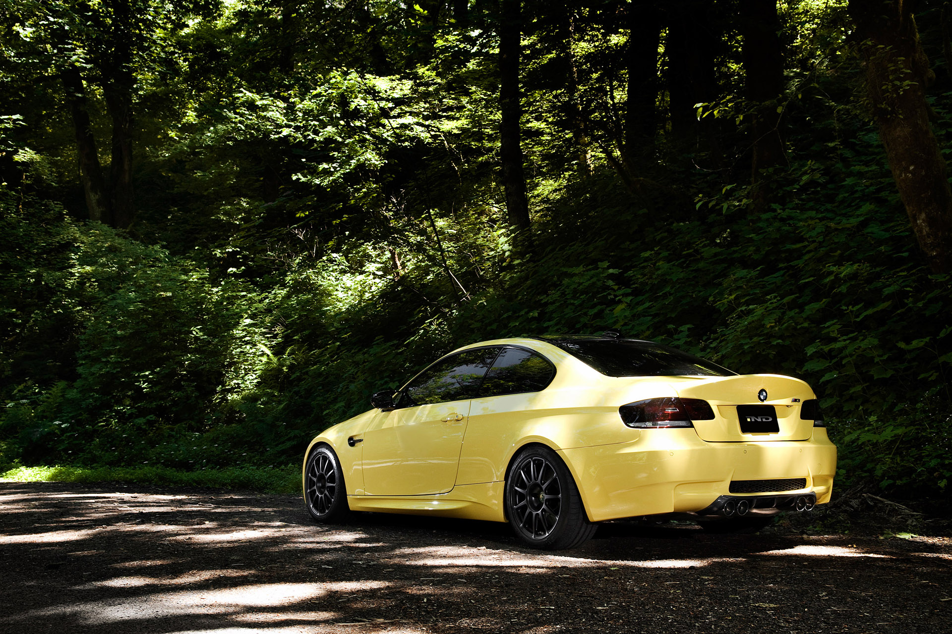 IND Dakar Yellow BMW M3 (E92) photo 65954