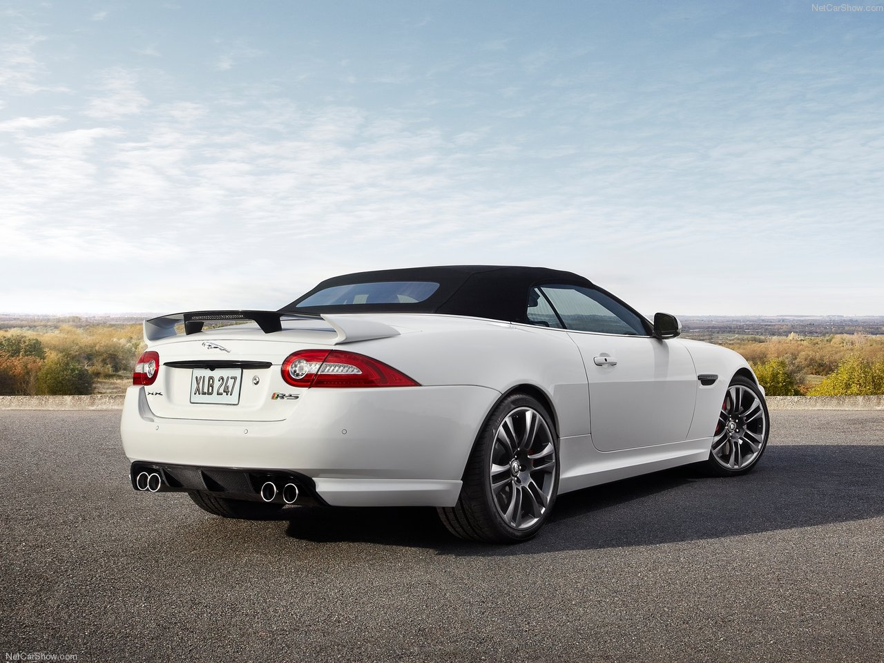 Jaguar XKR-S Convertible photo 86808