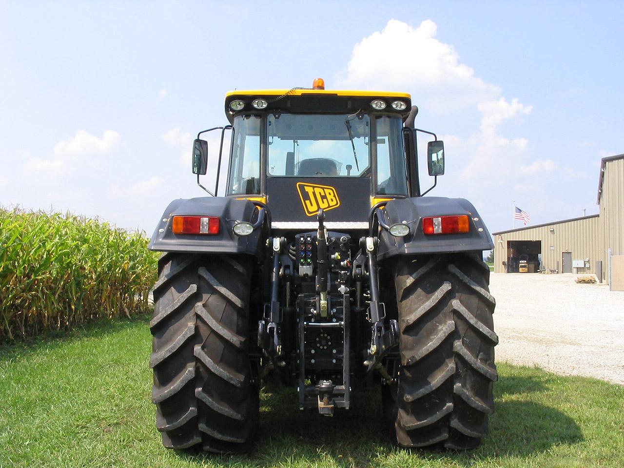 The JCB Fastrac tractor