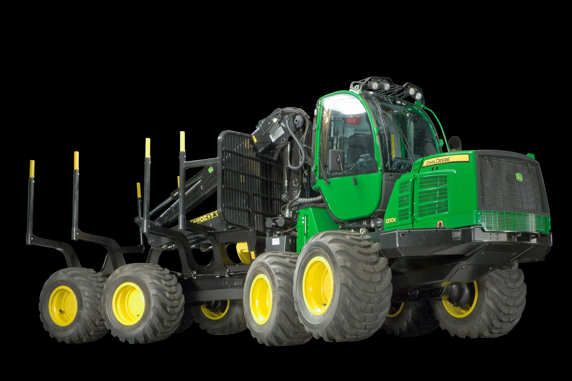 John Deere Forwarder 1210E photo 72011