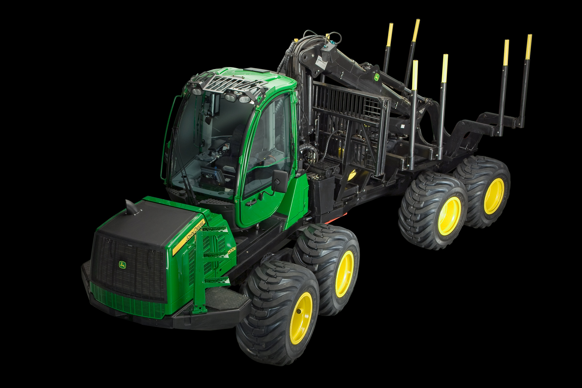 John Deere Forwarder 1510E photo 72012