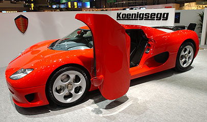 Koenigsegg CC 8S photo 23736