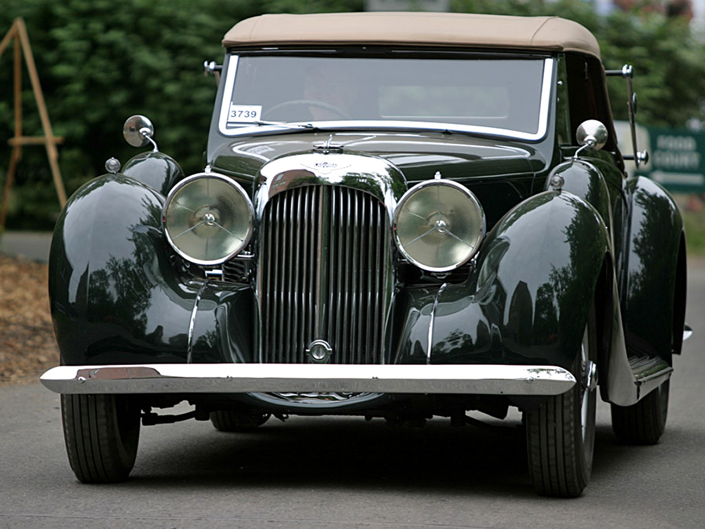 Lagonda V12 Cabriolet (1939) photo 45700