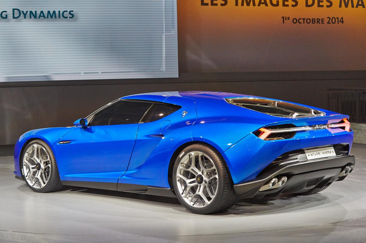 Lamborghini Asterion Hybrid Concept photo 131331