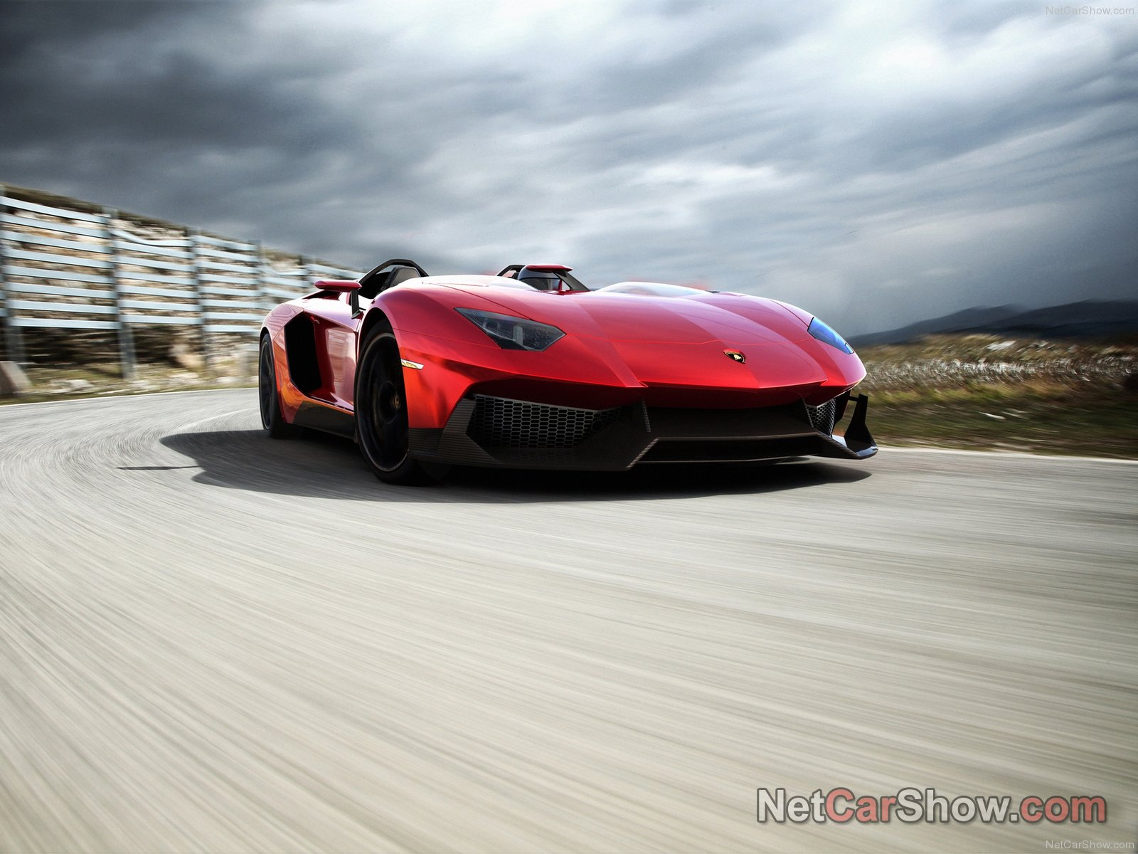 Lamborghini Aventador J photo 91455