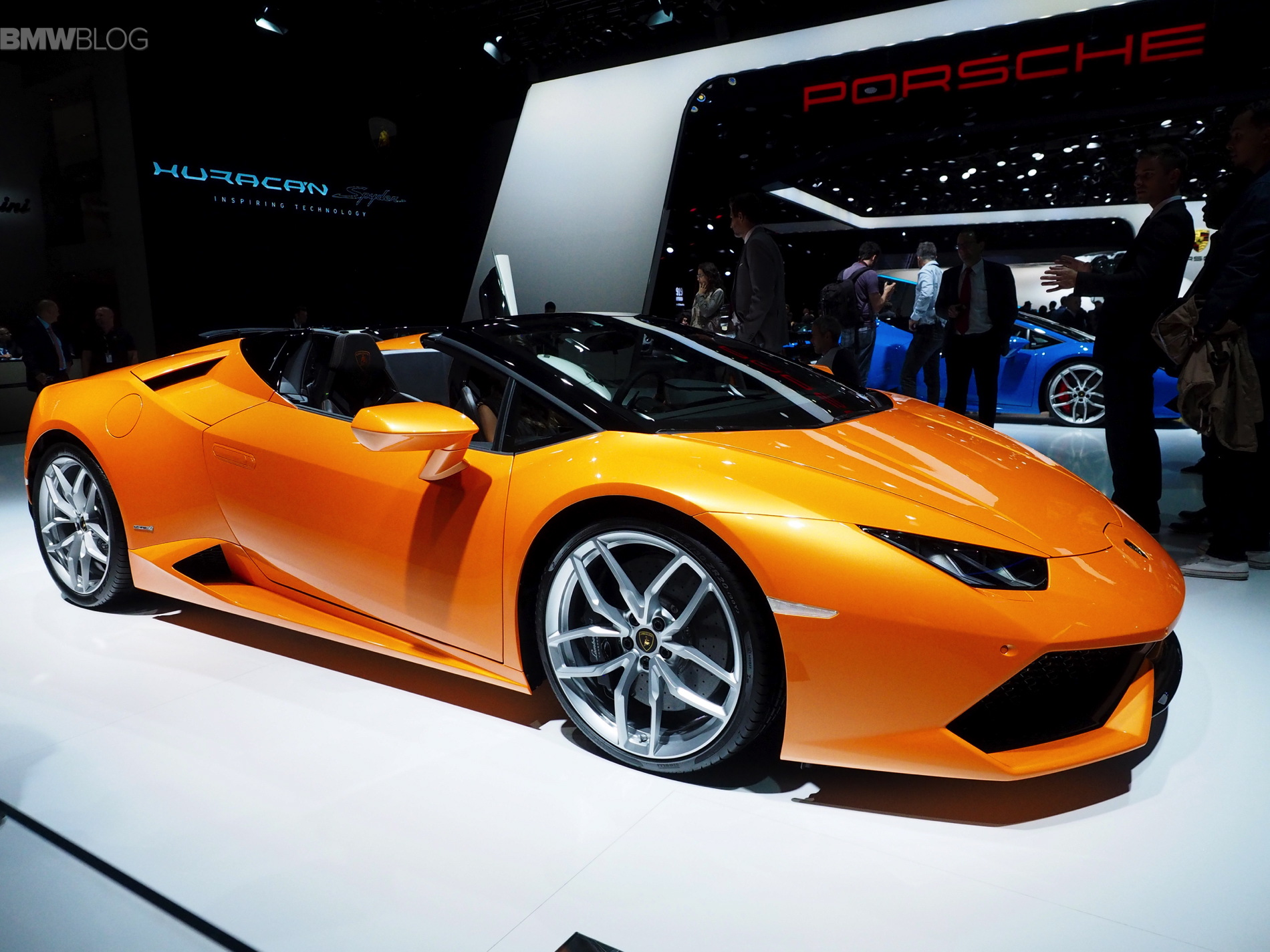 Lamborghini Huracan Spyder photo 167392