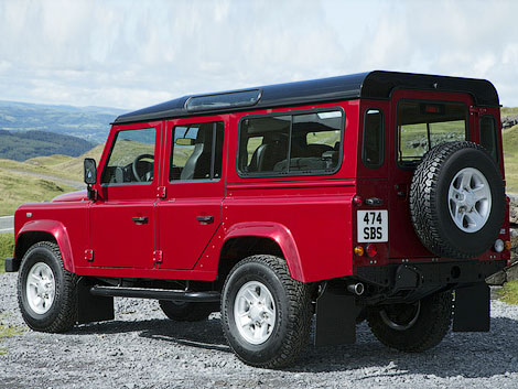 Land Rover Defender photo 95299
