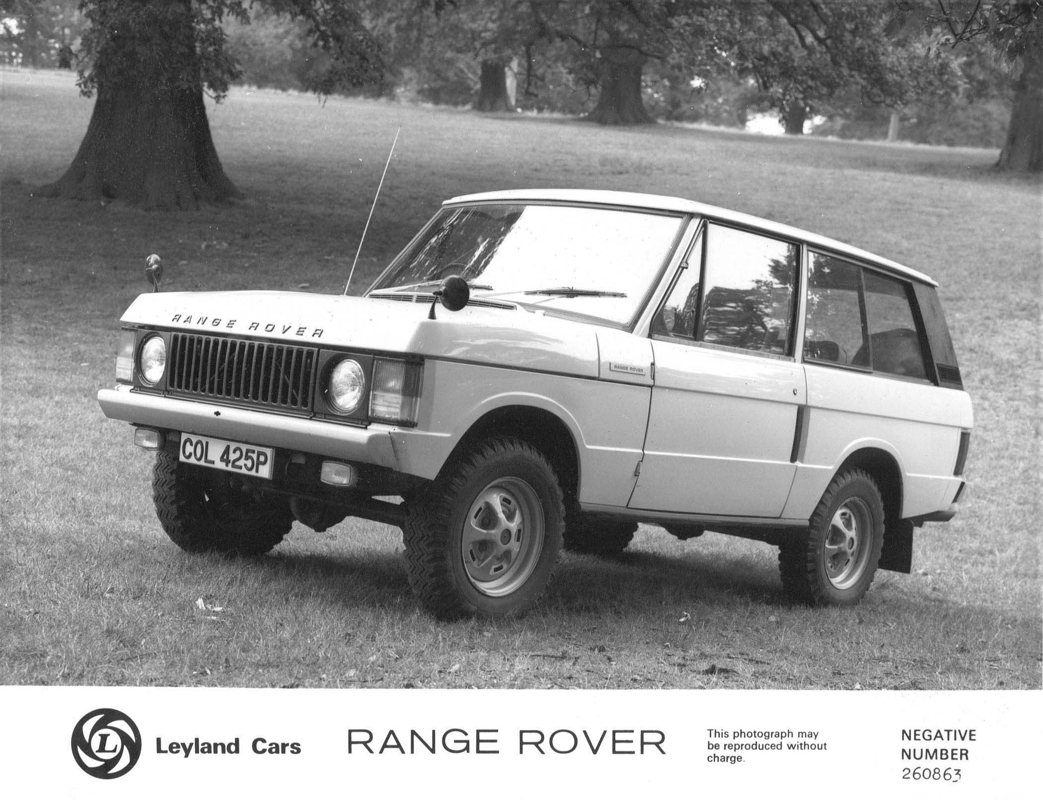 Land Rover Range Rover Classic photo 39864