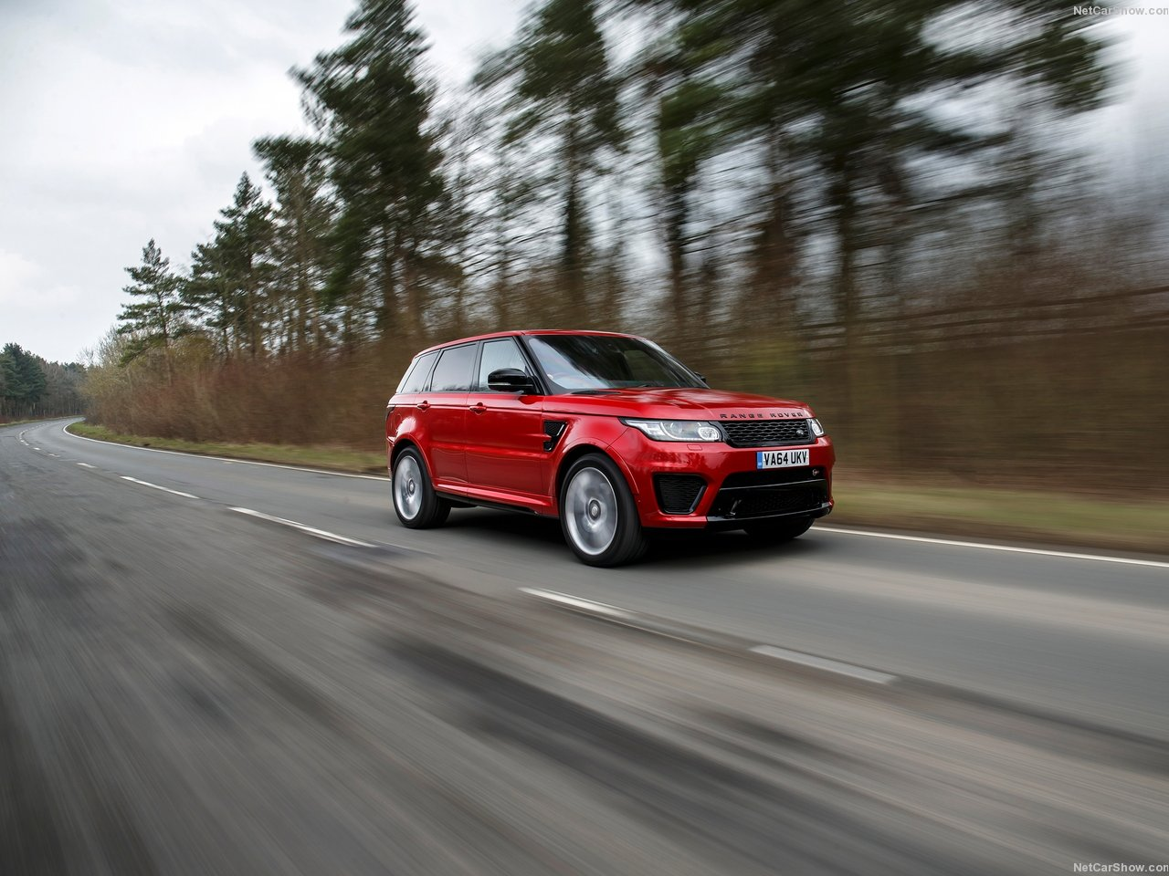 Land Rover Range Rover Sport SVR photo 138671