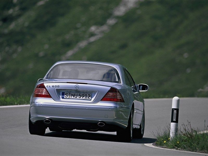 Mercedes-Benz CL-Class W215 photo 14611