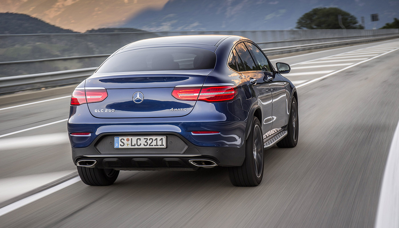 Mercedes-Benz GLC Coupe photo 166014