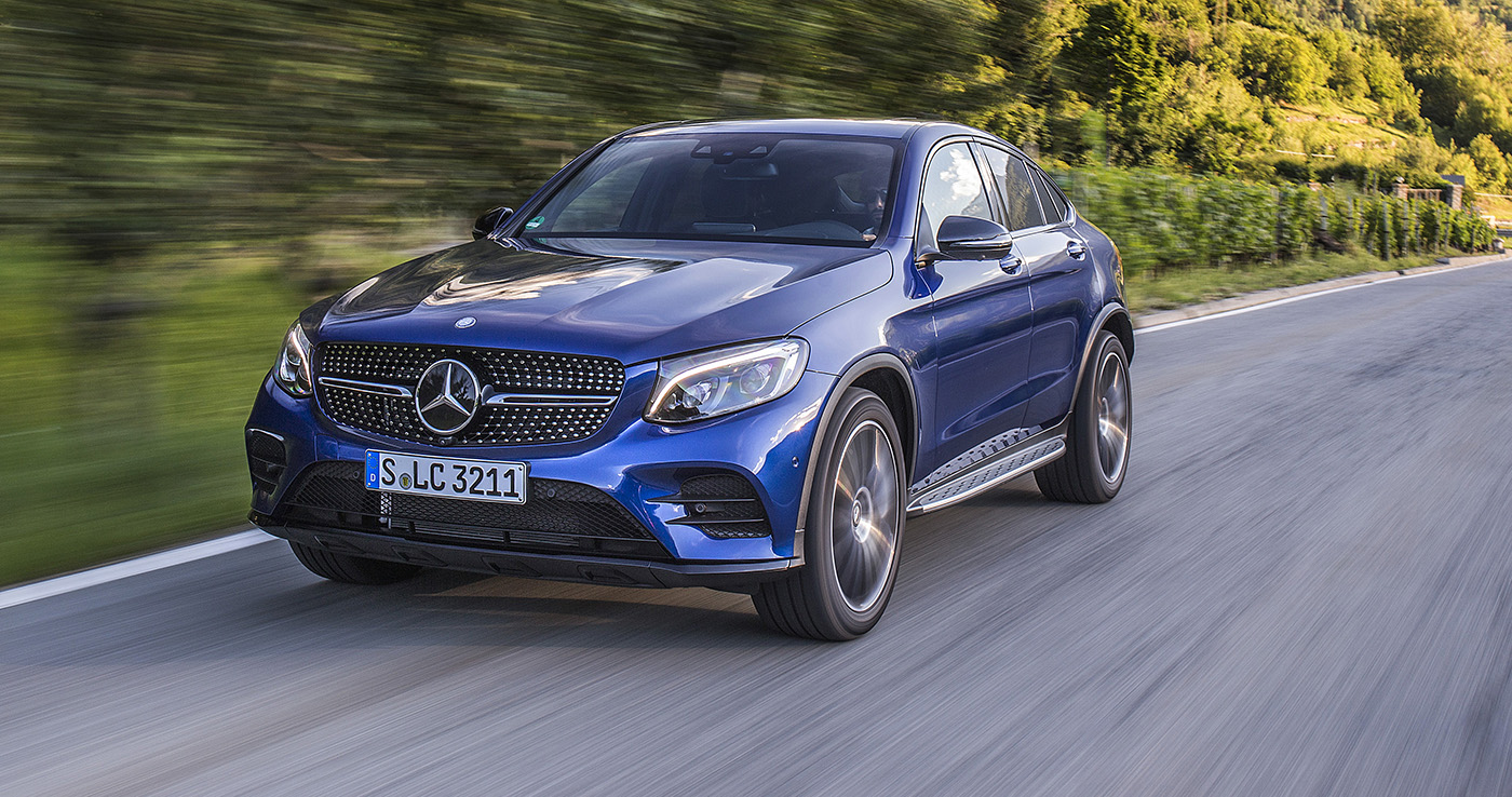 Mercedes-Benz GLC Coupe photo 166016