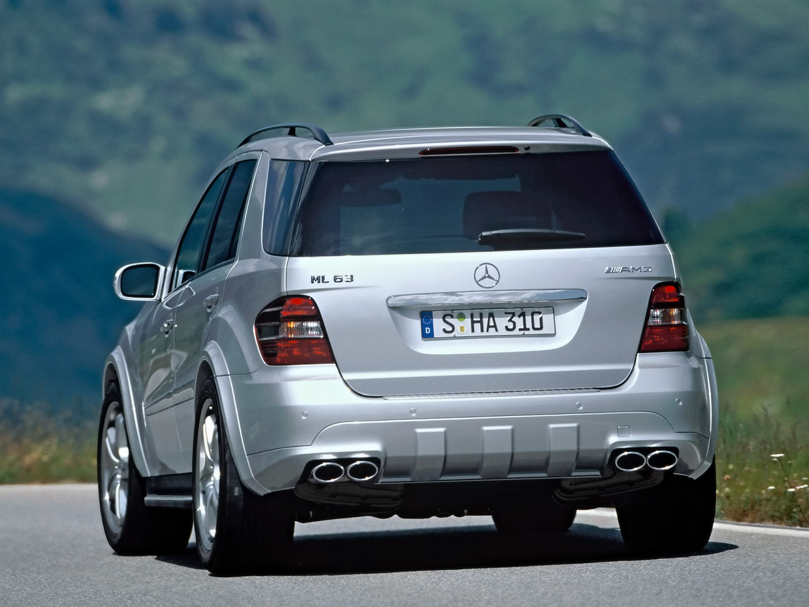 Mercedes-Benz ML AMG photo 26516