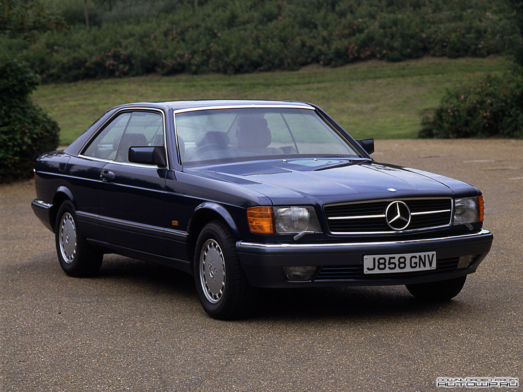 Mercedes-Benz S-Class Coupe C126 photo 76871