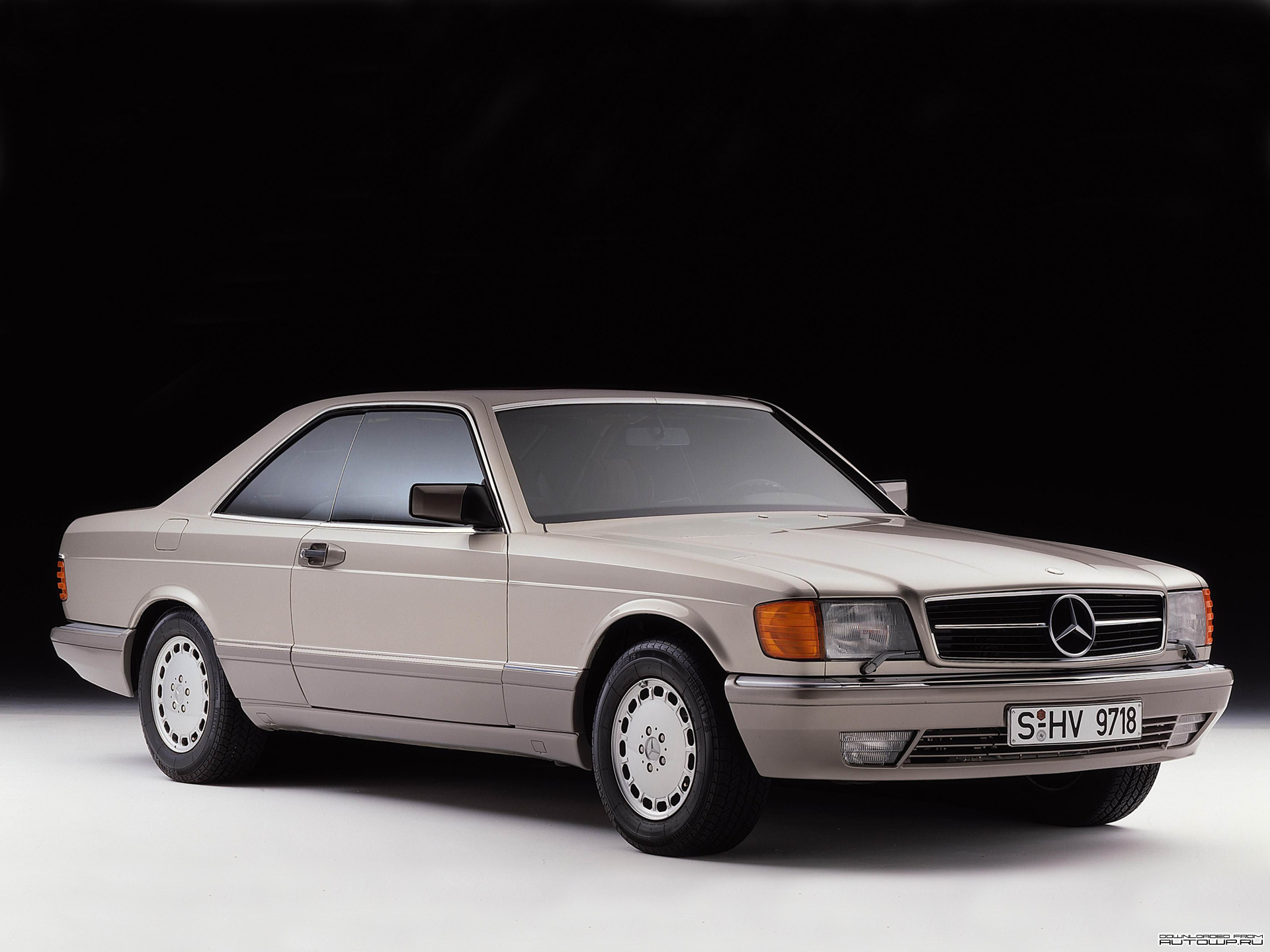 Mercedes-Benz S-Class Coupe C126 photo 76876