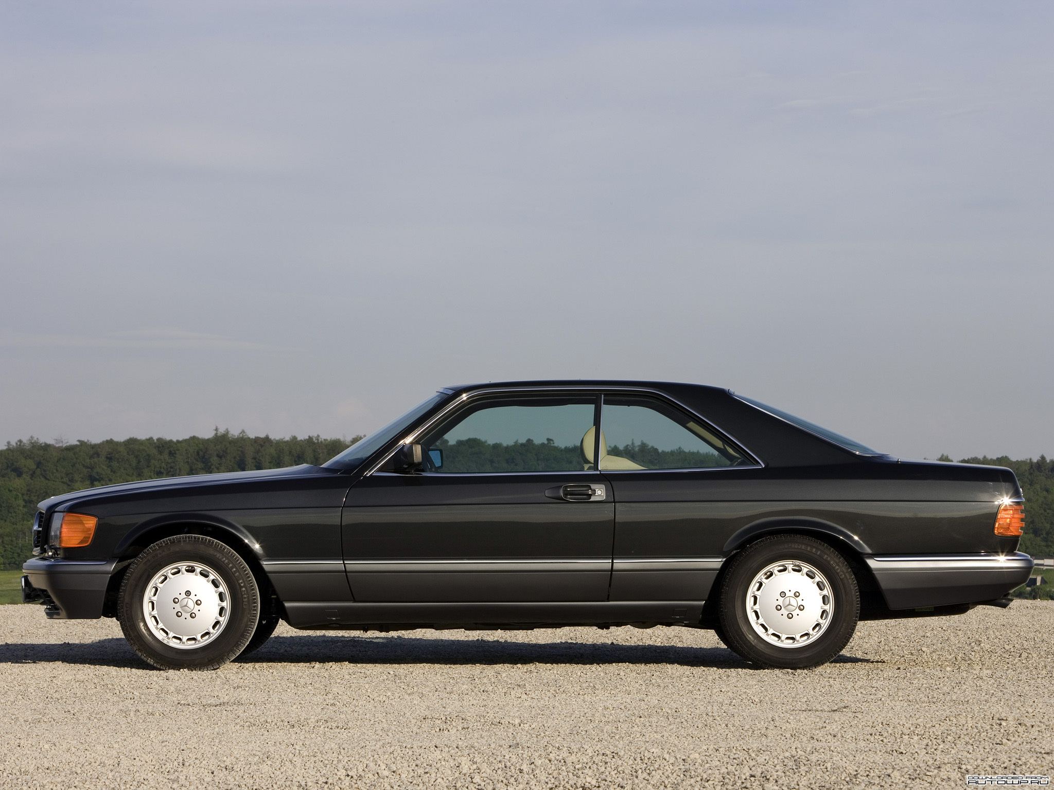 Mercedes-Benz S-Class Coupe C126 photo 76878
