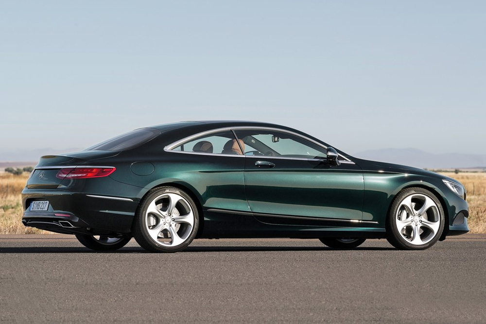 Mercedes-Benz S-Class Coupe photo 108129