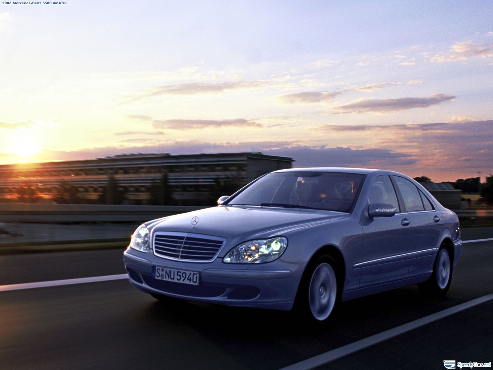 Mercedes-Benz S-Class W220 photo 11208