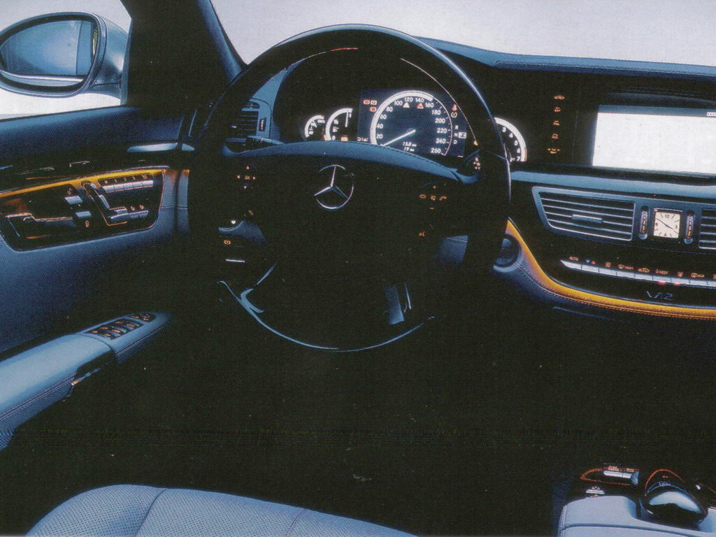 Mercedes-Benz S-Class W221 photo 27114