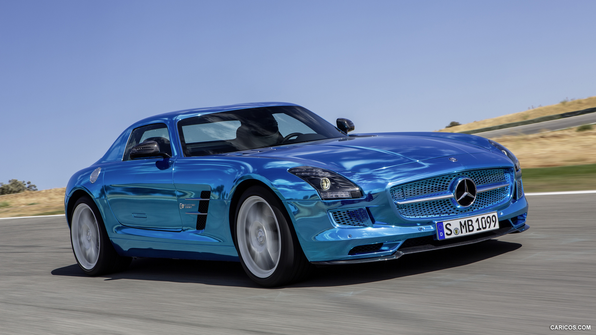 Mercedes-Benz SLS AMG Coupe Electric Drive photo 109192