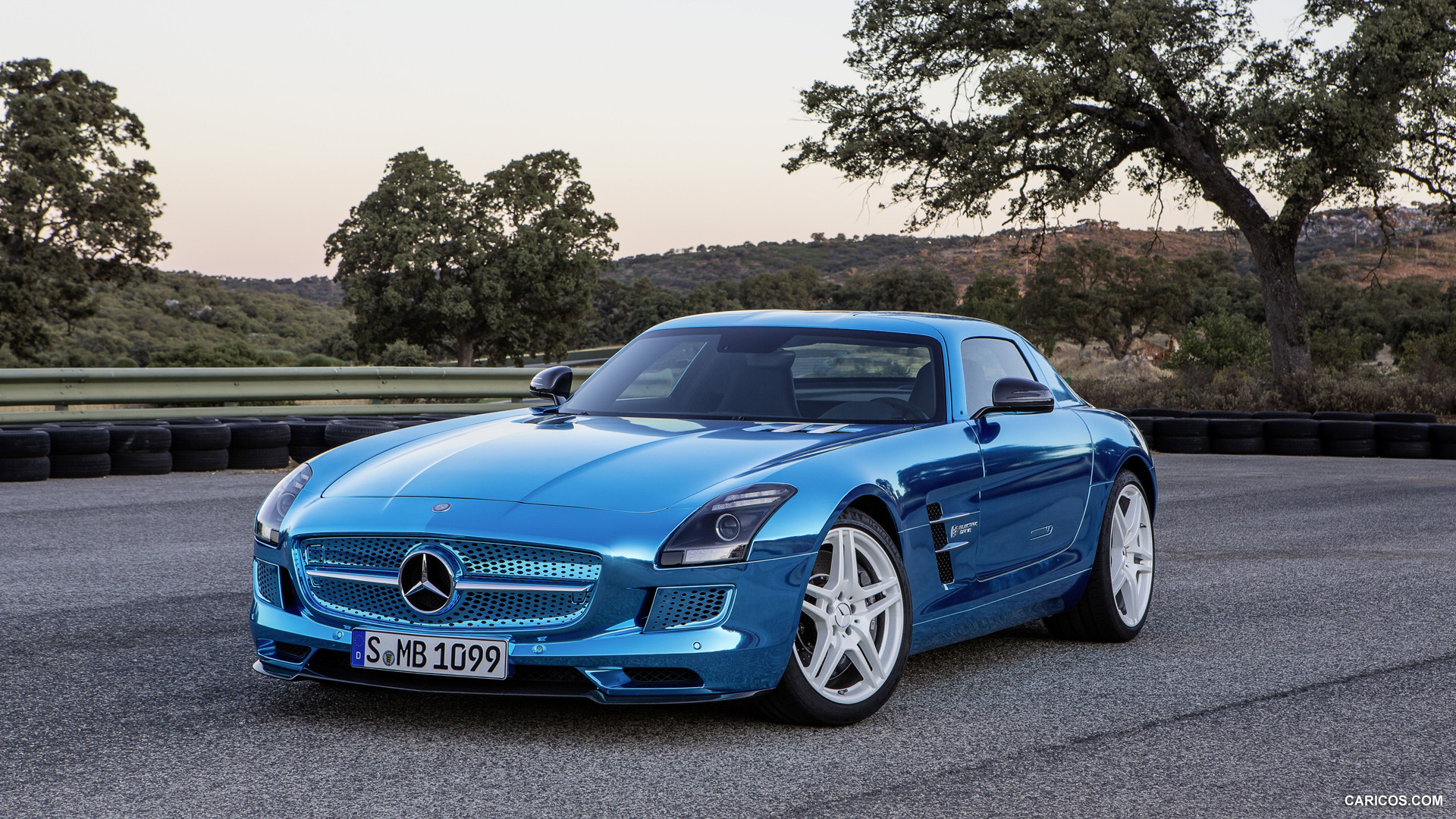 Mercedes-Benz SLS AMG Coupe Electric Drive photo 109212
