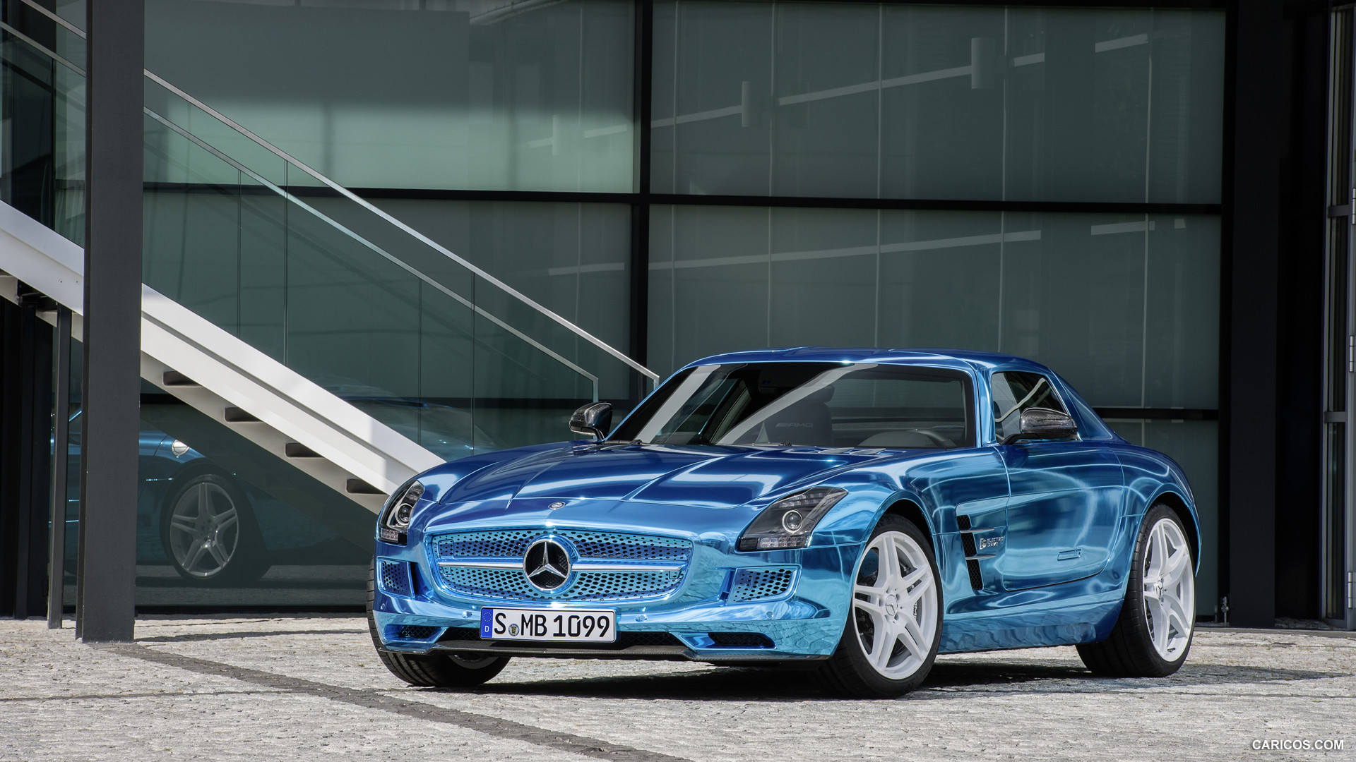 Mercedes-Benz SLS AMG Coupe Electric Drive photo 109214