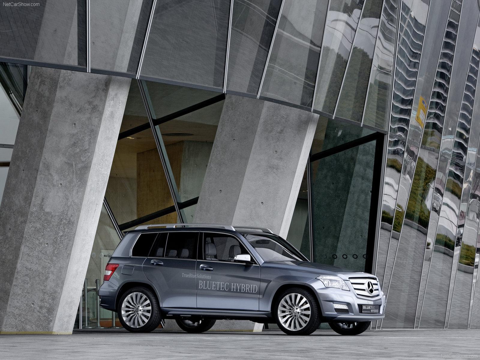 Mercedes Benz Vision Glk Bluetec Hybrid Pic