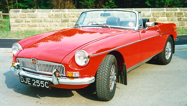 MG Roadster photo 5929