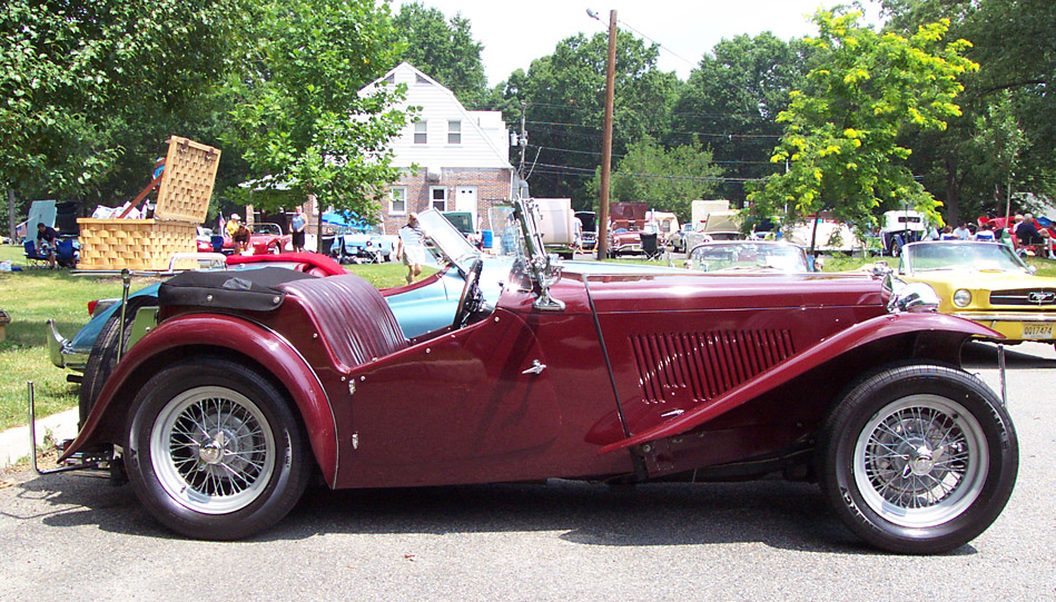 MG TC-Maroon photo 5932