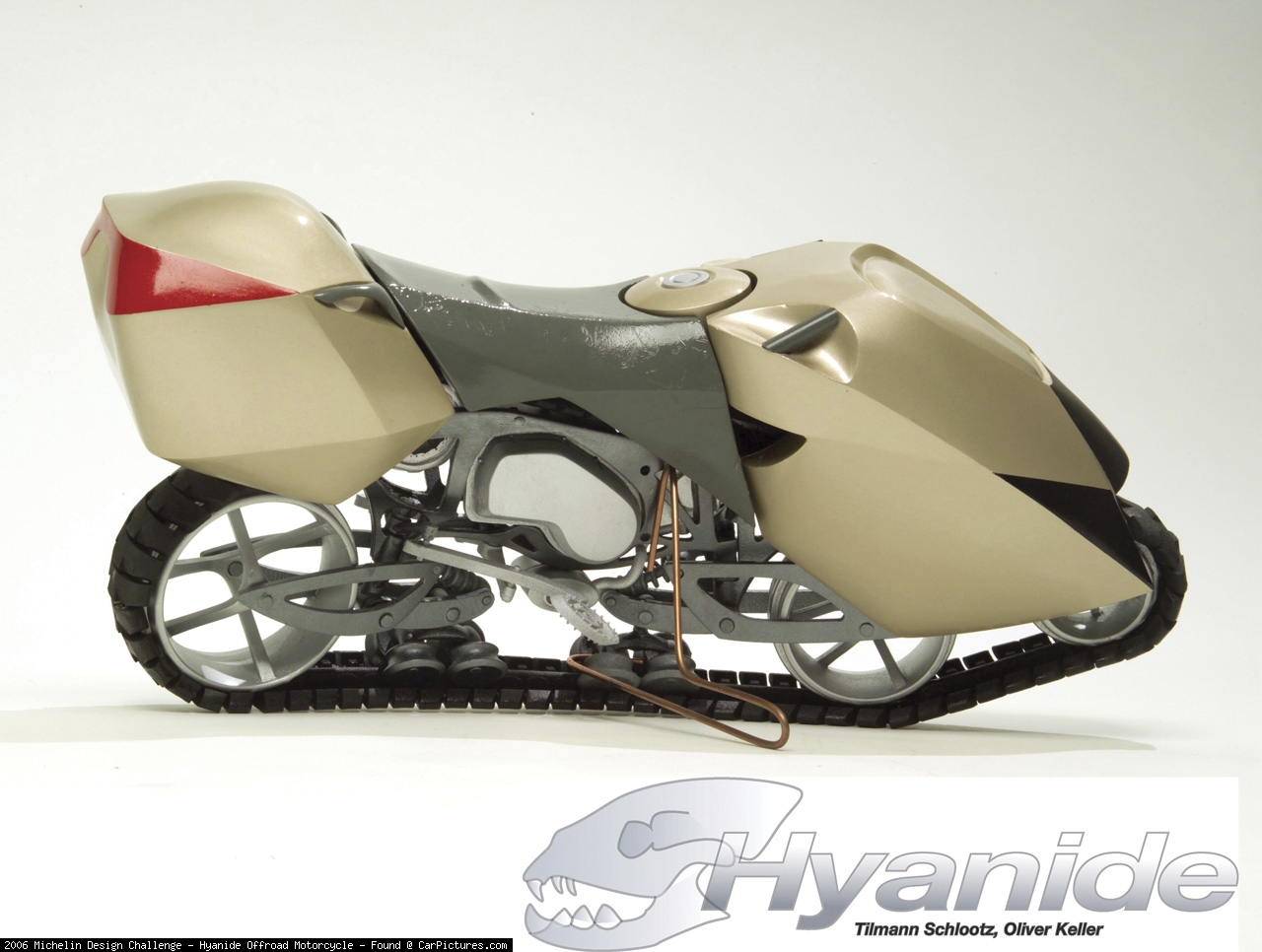 Michelin Design Hyanide Offroad Motorcycle photo 44651