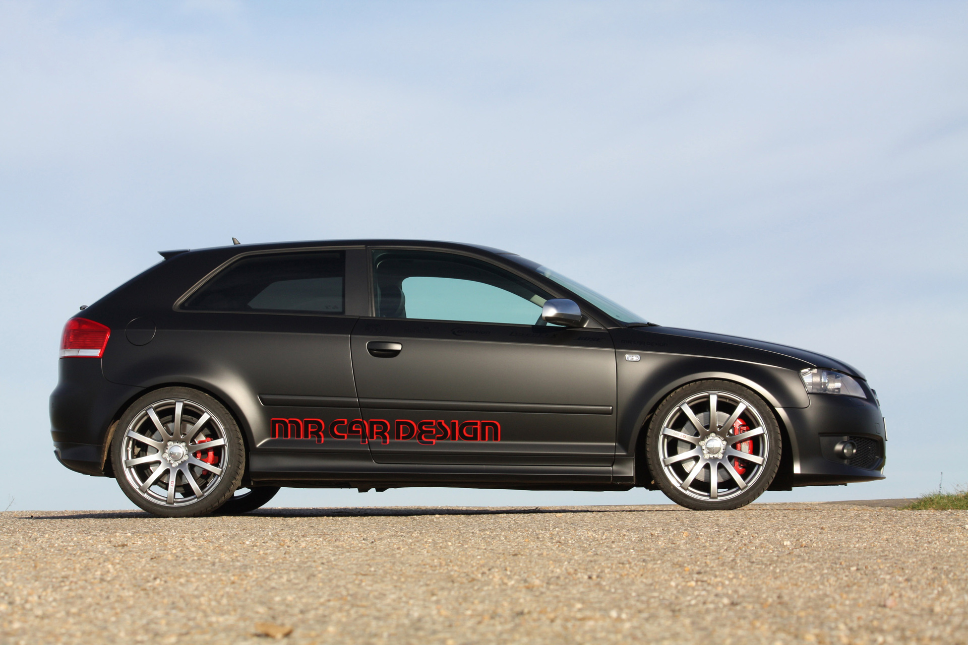 MR Car Design Audi S3 Black Performance Edition photo 70192