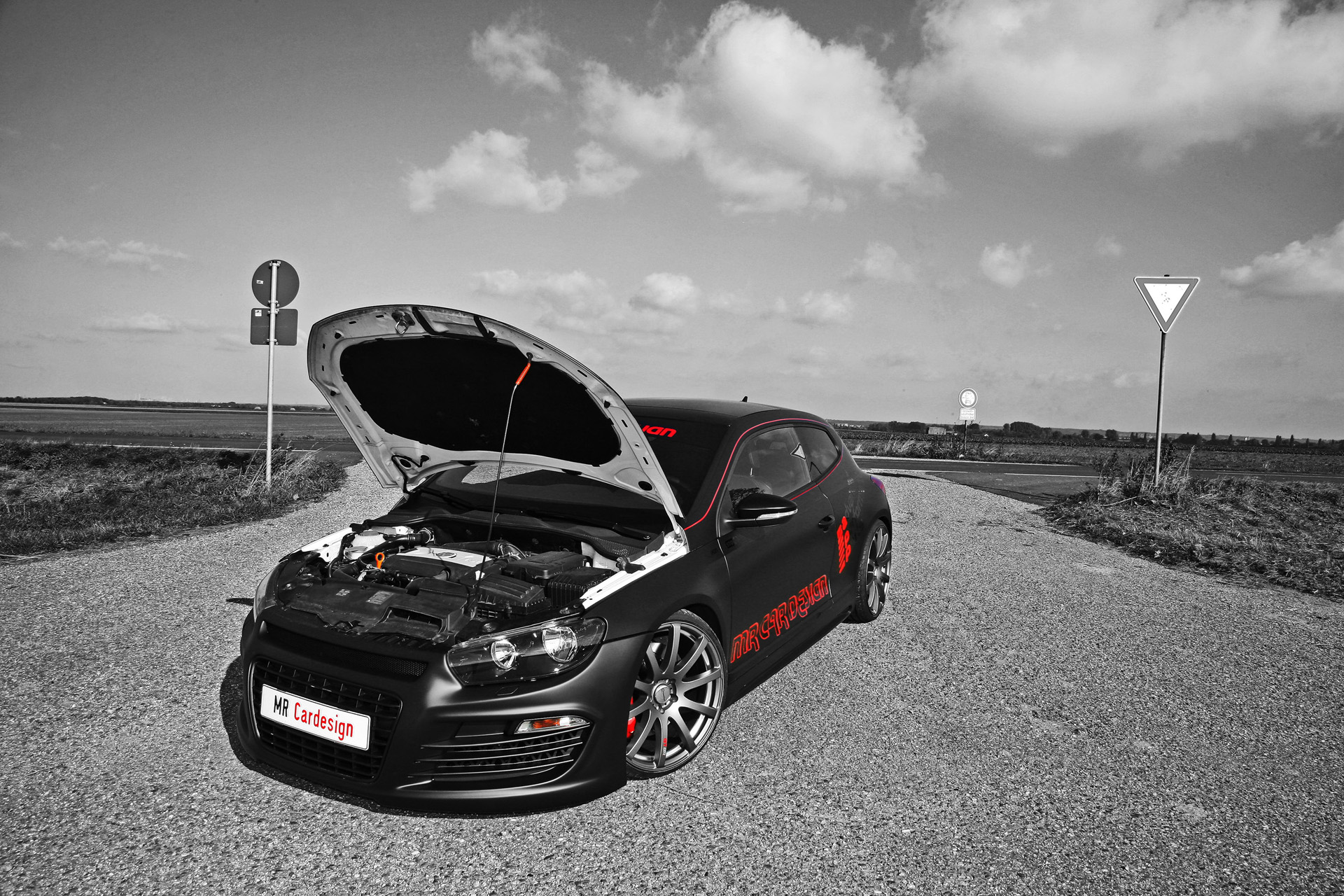 MR Car Design VW Scirocco Black Rocco photo 69084