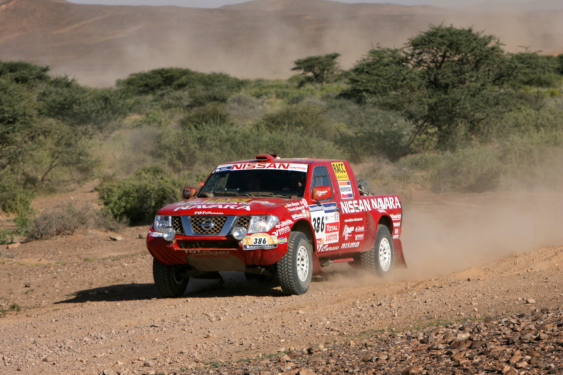 Nissan Navara Rally photo 60715