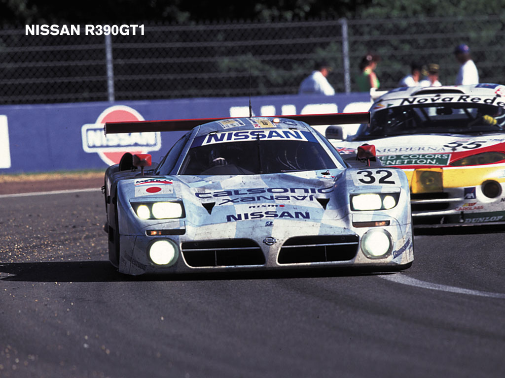Nissan R390 GT1 photo 46706