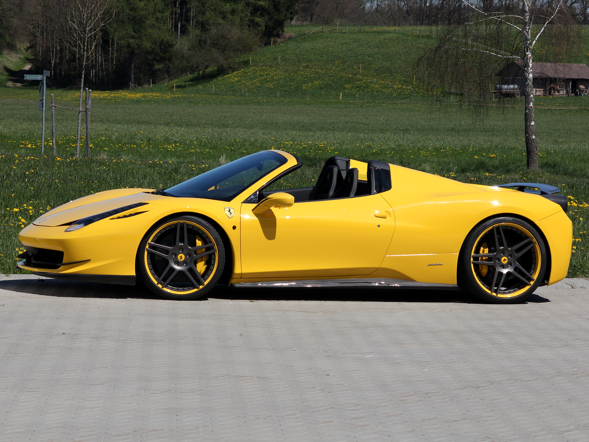 Novitec Rosso Ferrari 458 Spider photo 91657