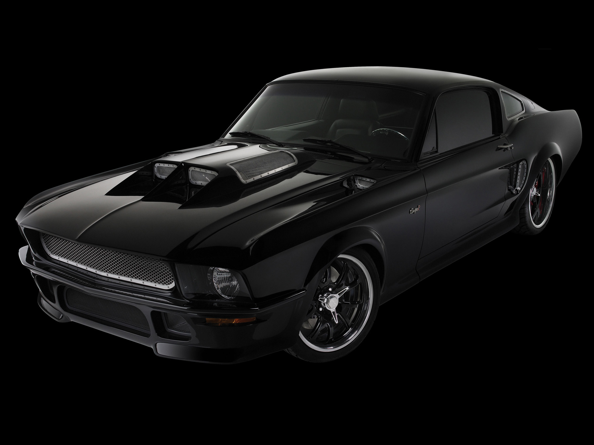 Obsidian SG-One Ford Mustang photo 51593