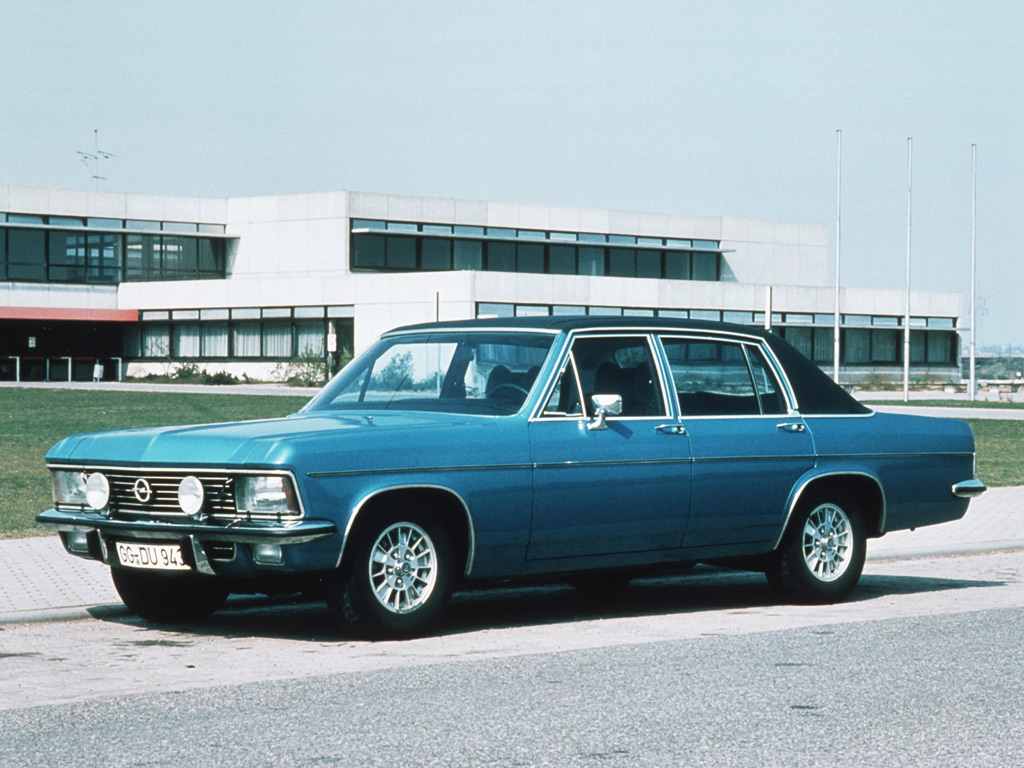 Opel Admiral photo 88100