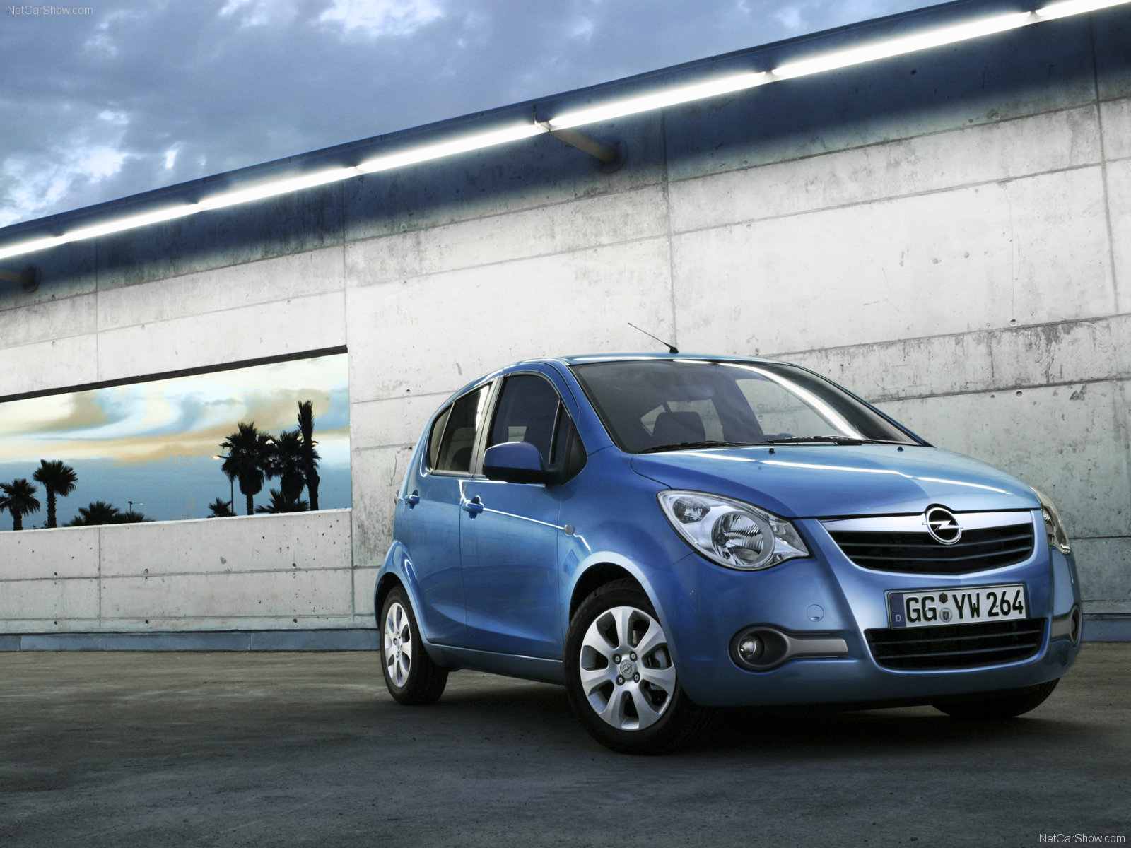 Opel Agila photo 45419