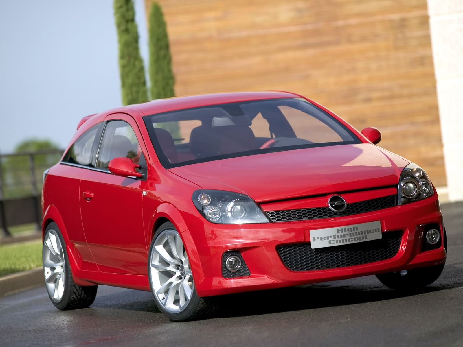Opel Astra High Performance Concept photo 13565