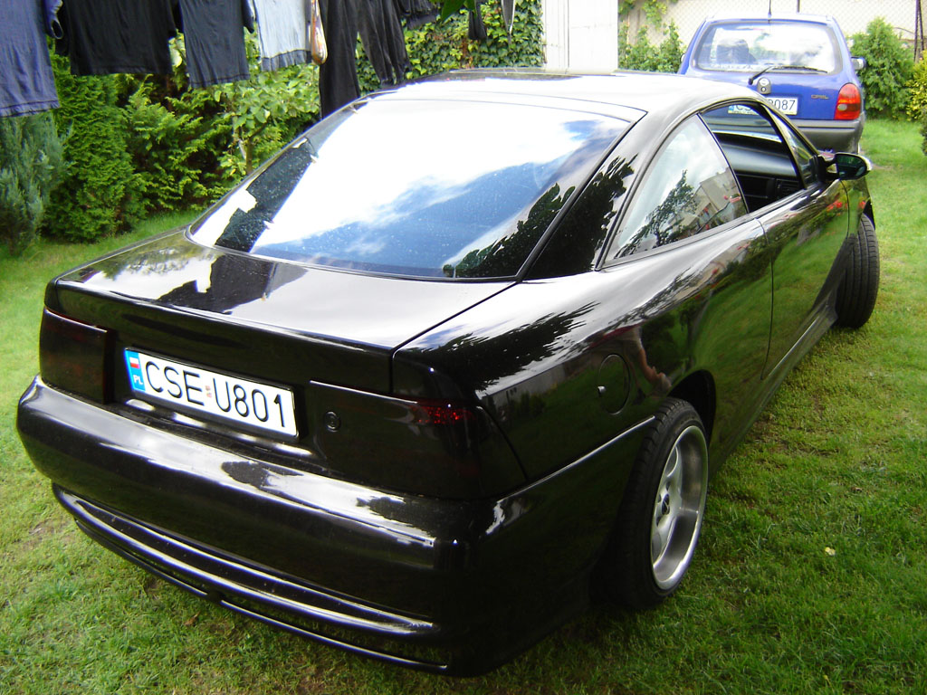 Opel Calibra photo 37770
