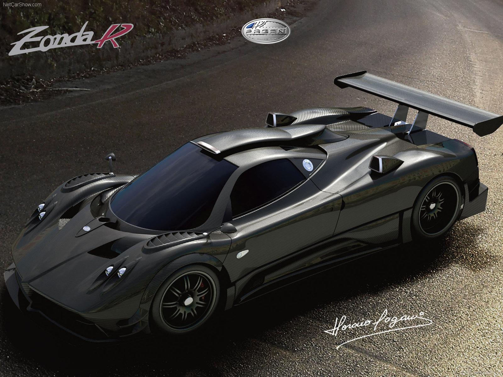 Poster 2009 Pagani Zonda R Supercar
