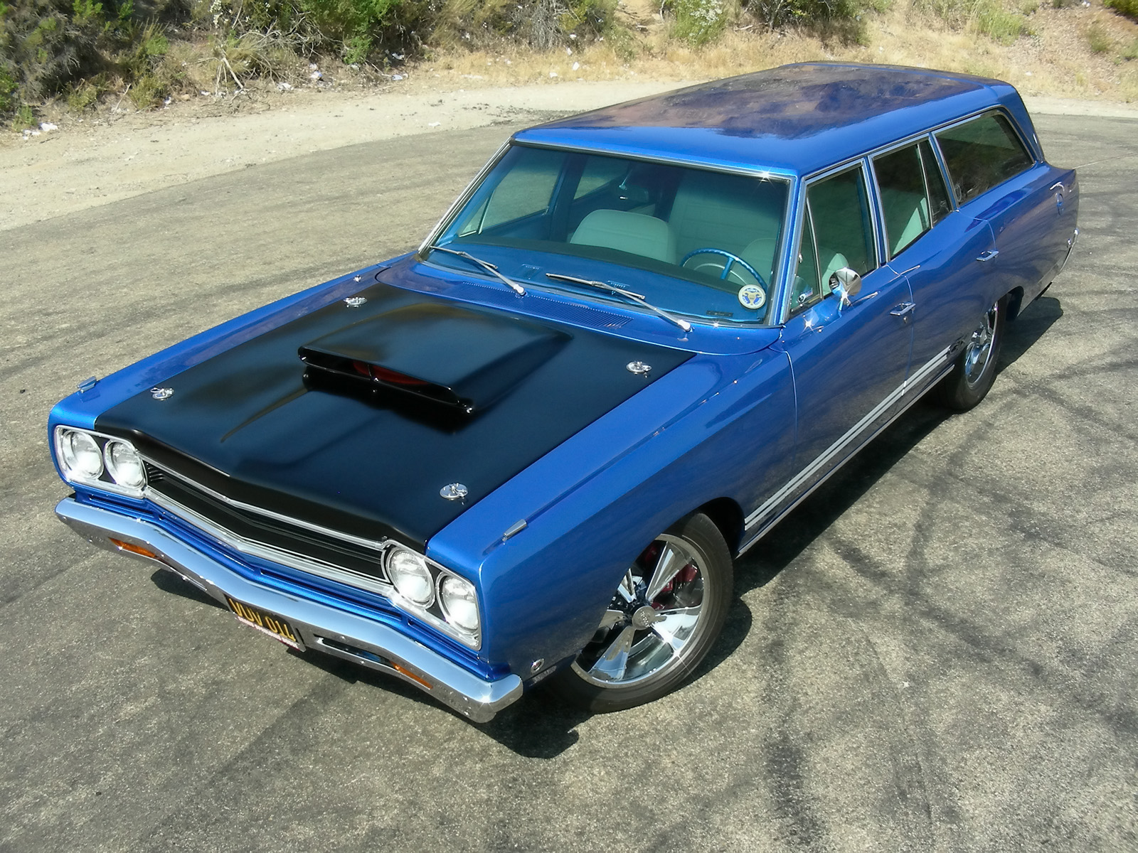 Performance West Group Plymouth GTX 440 Six Pack Wagon photo 51489