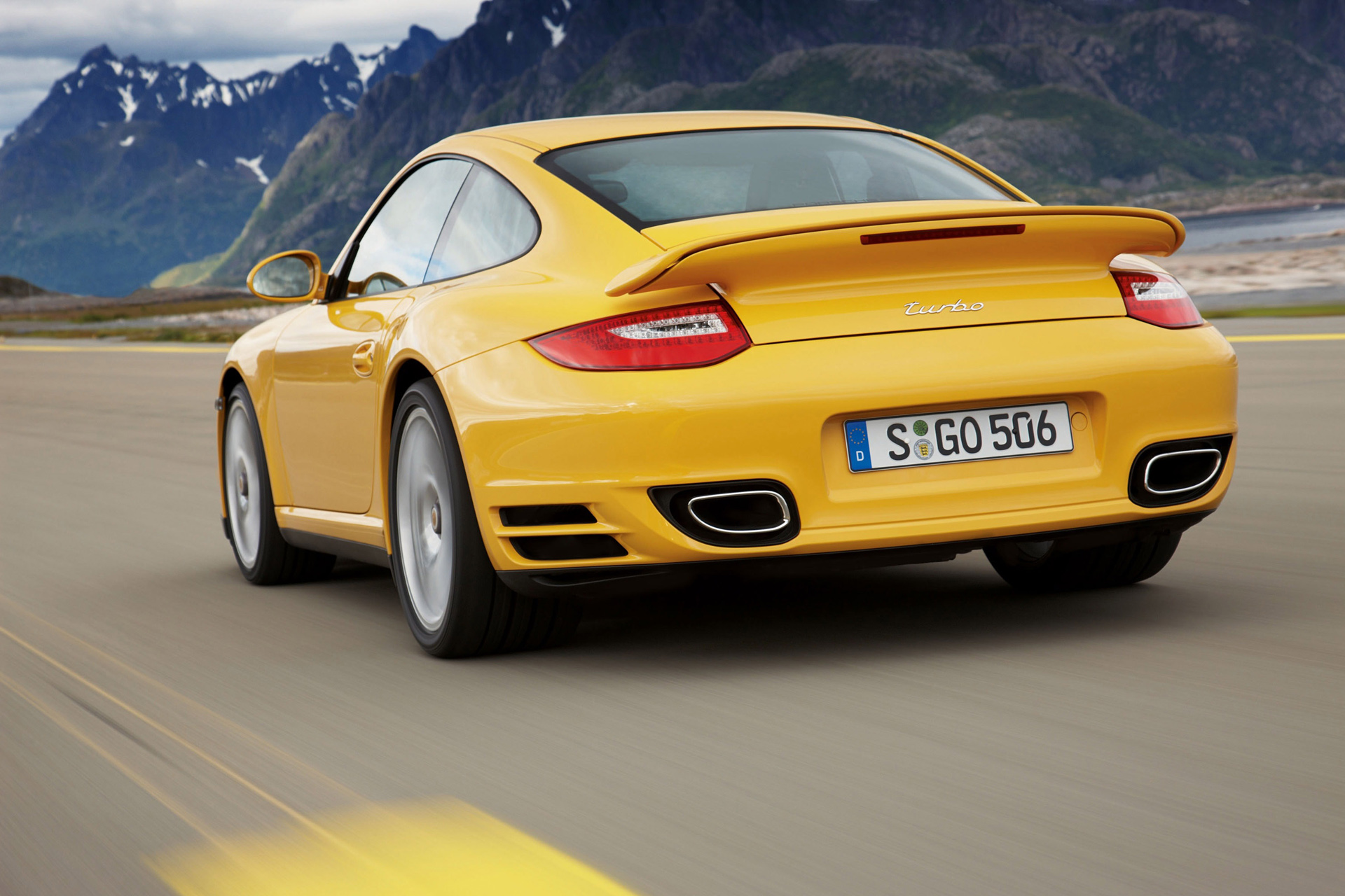 Porsche 911 Turbo (997) photo 66502