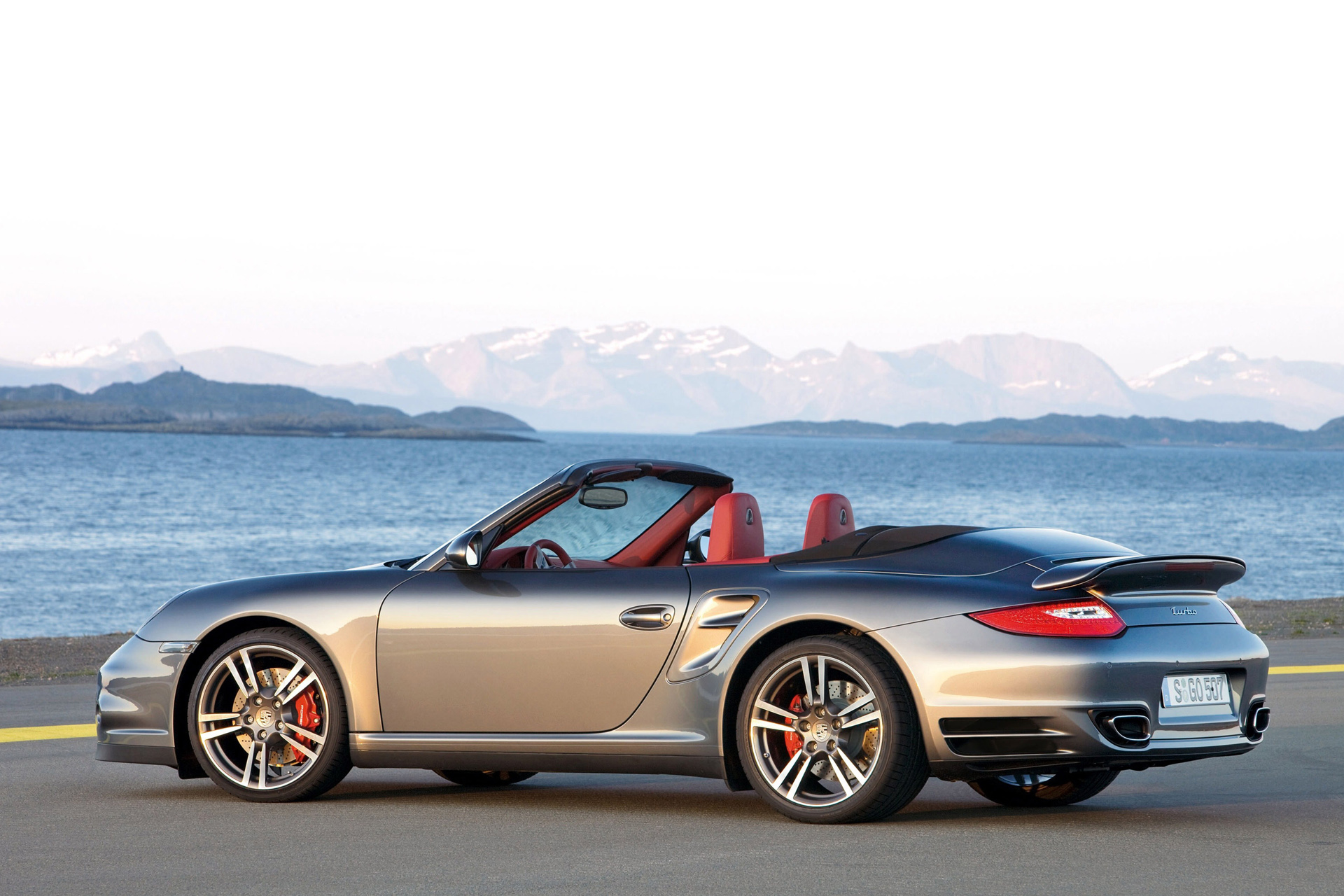 Porsche 911 Turbo Cabriolet (997) photo 66501