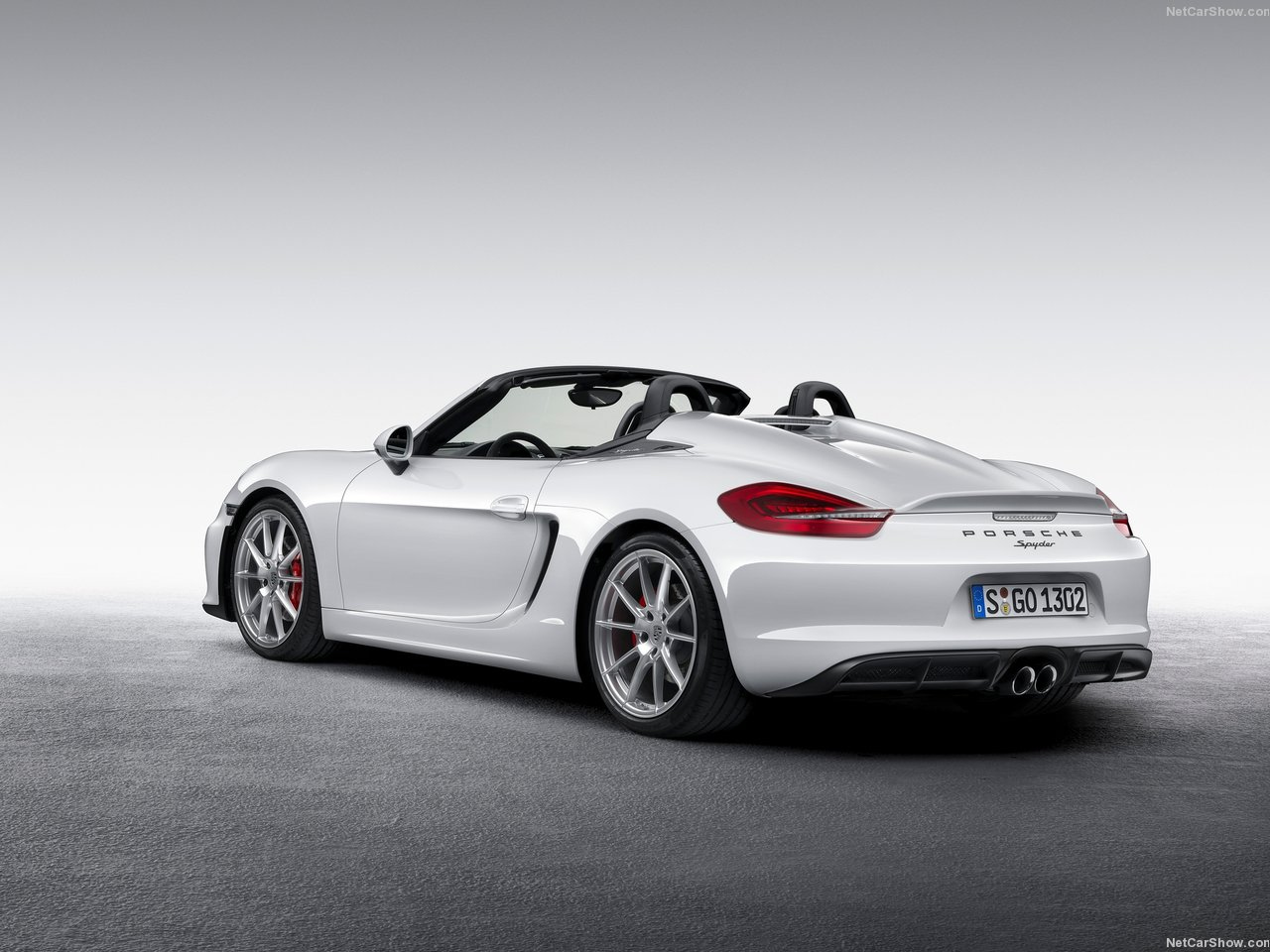 Porsche Boxster Spyder photo 143121