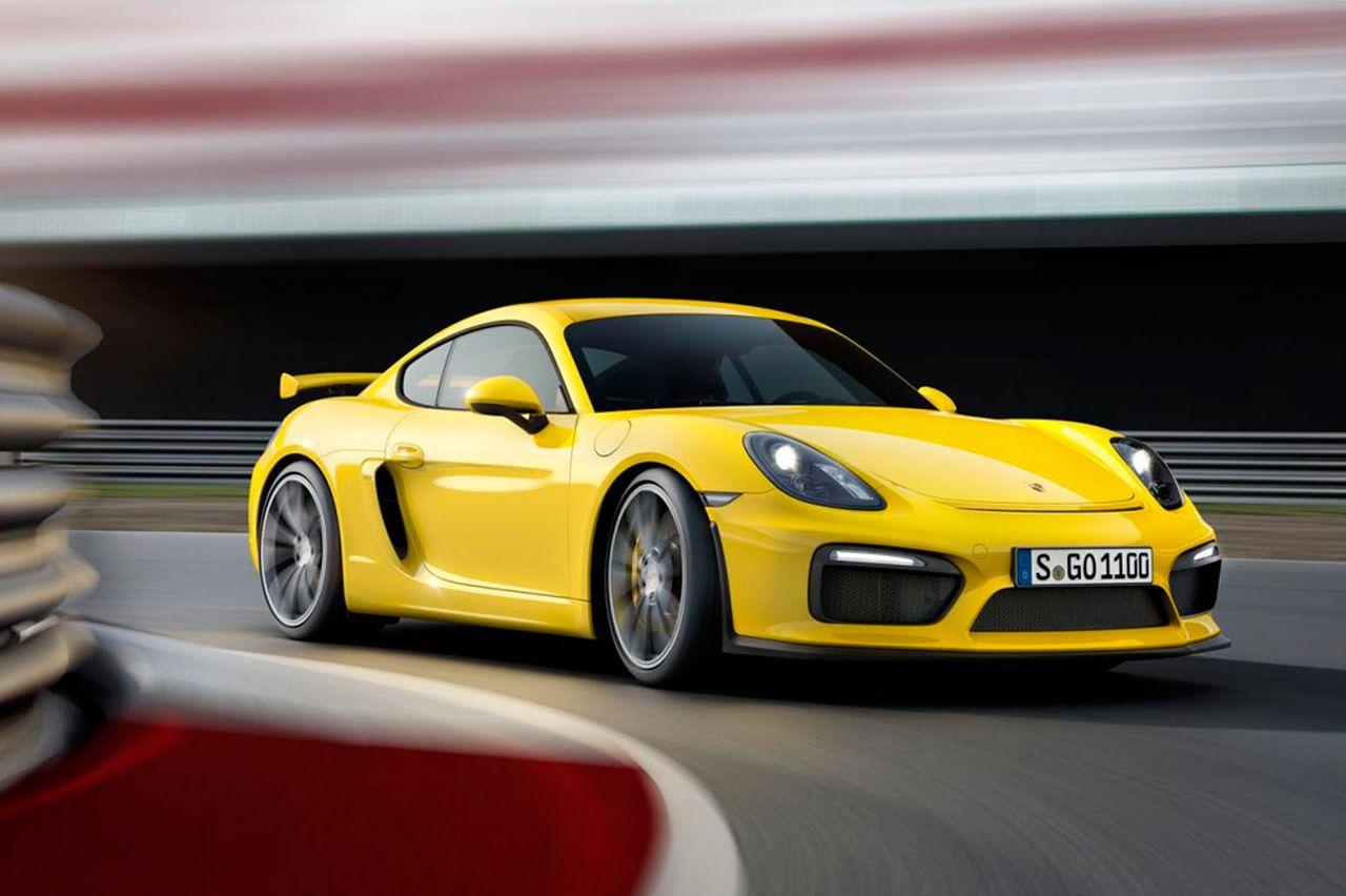Porsche Cayman GT4 photo 136713