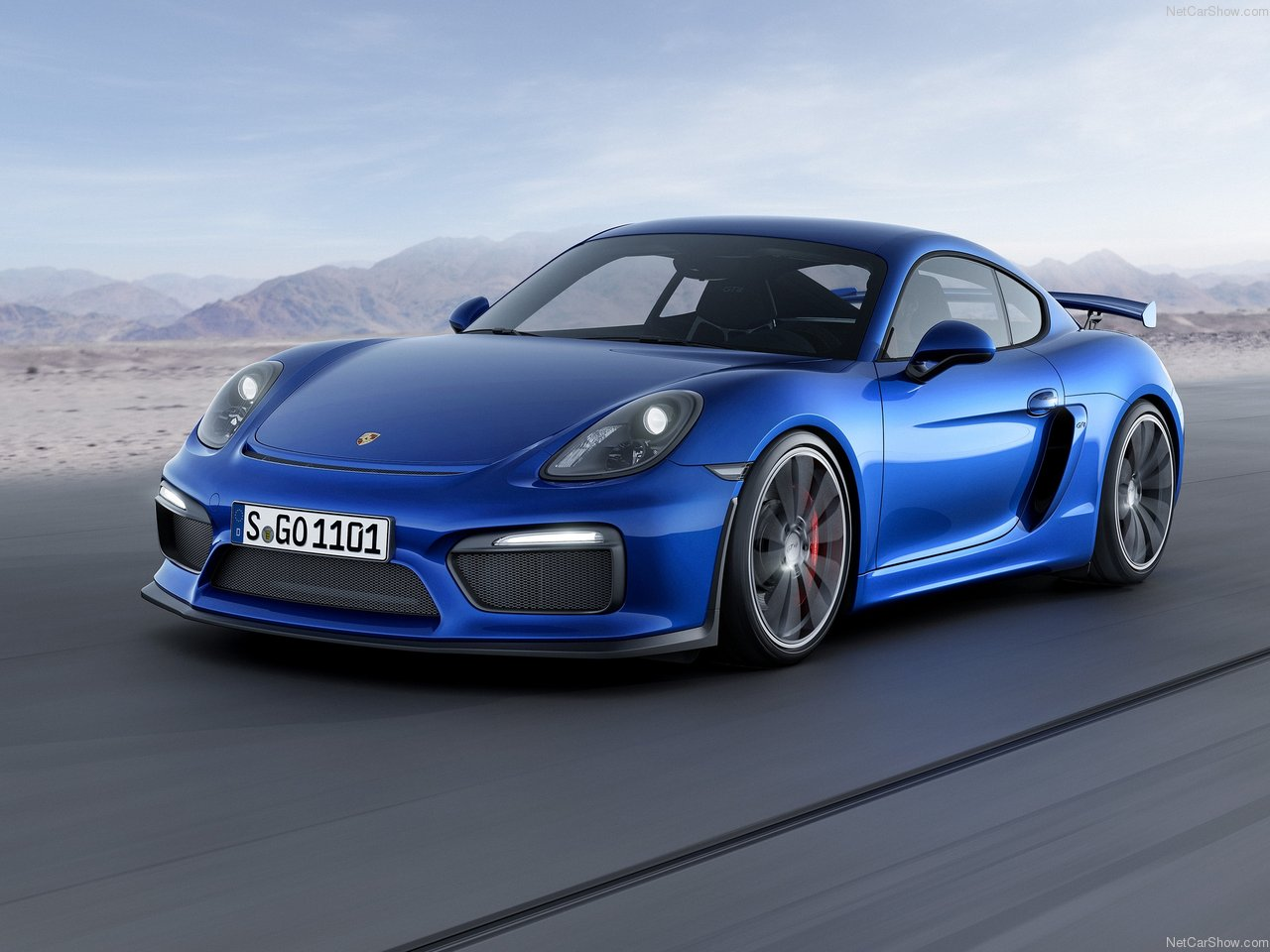 Porsche Cayman GT4 photo 143105