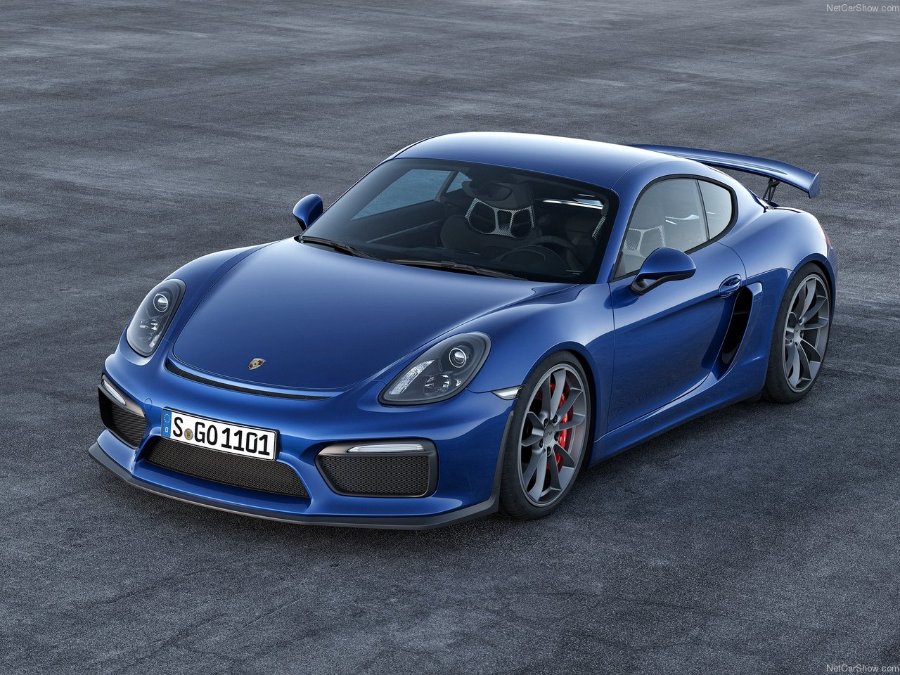 Porsche Cayman GT4 photo 143106